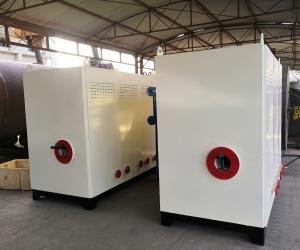 濮陽劉五輩驢肉館 1臺一噸燃氣蒸汽發生器和一臺0.3噸燃氣蒸汽發生器