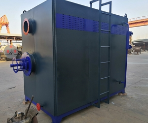 河南大樹實業有限公司 (化工廠)2臺一噸燃氣蒸汽發生器