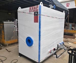 新鄉艾施洗衣廠1噸燃氣蒸汽發生器